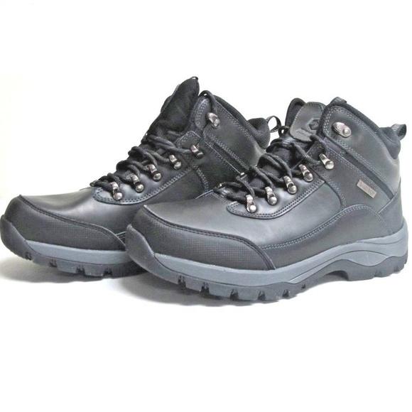 6272e1c0ef9 Khombu Mens Summit Hiking Boots, Black NWT